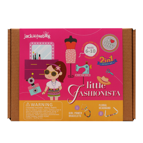 Little Fashionista 2-in-1 DIY Craft Box