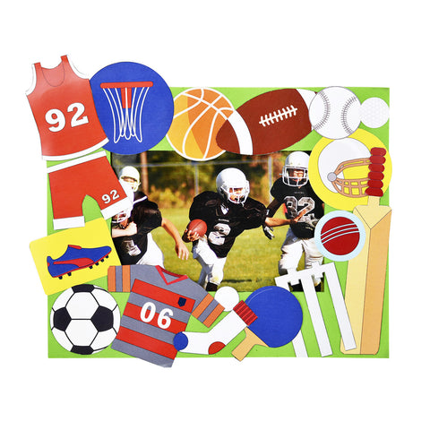 Sports Fanatic 3-in-1 DIY Craft box