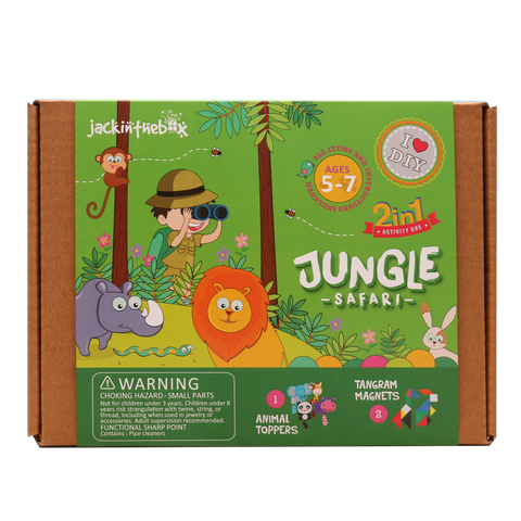 Jungle Safari: 2-in-1