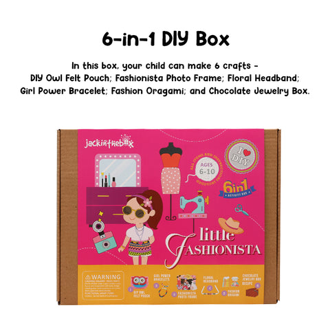 Little Fashionista 6-in-1 DIY Box