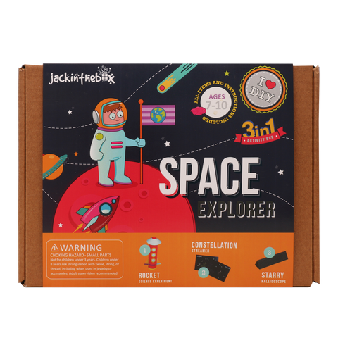 Space Explorer 3-in-1 DIY Craft Box