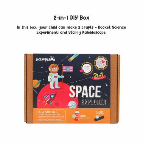 Space Explore 2-in-1 DIY Craft Box