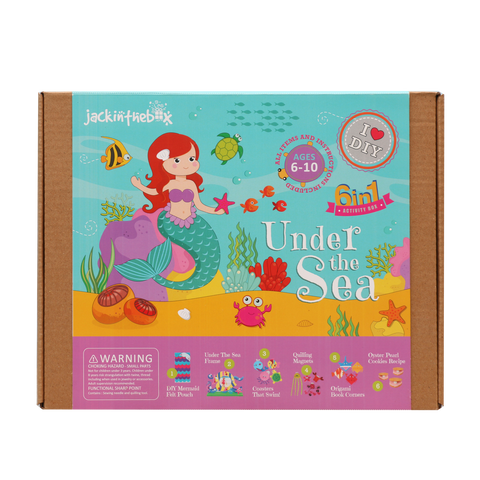 Under the Sea 6-in-1 DIY Craft Box