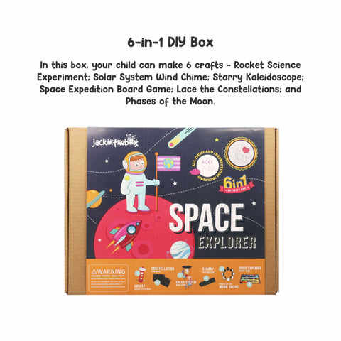 Space Explorer 6-in-1 DIY Craft Box