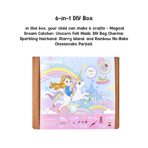 All Things Magical - 6-in-1 DIY Craft Box