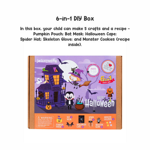 Happy Halloween - 6-in-1 DIY Craft Box