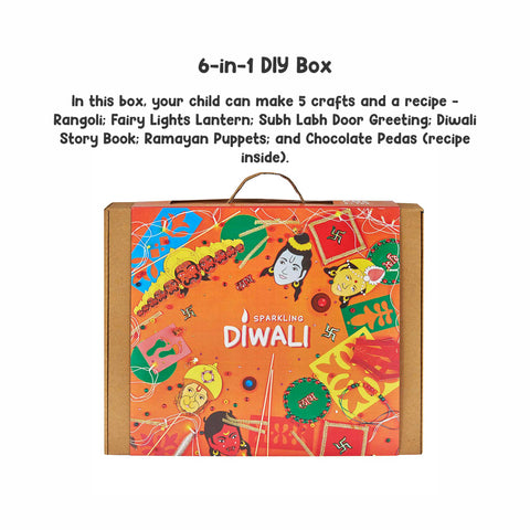 Sparkling Diwali 6-in-1 DIY Craft Box