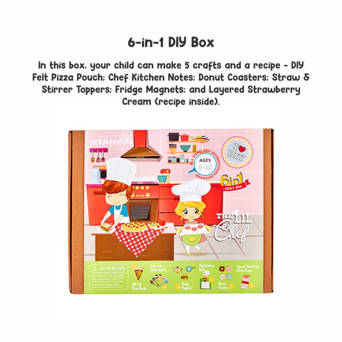 The Lil Chef 6-in-1 DIY Craft Box