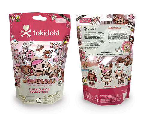 Tokidoki Donutella and Friends Plush Clip On Blind Bag by Aurora