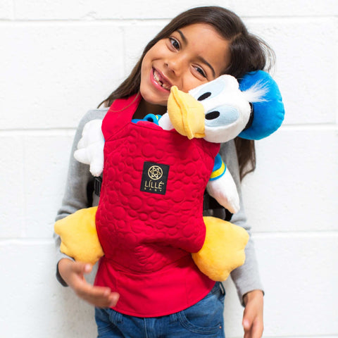 LILLEbaby - Disney Baby Collection - Doll Carrier - Mickey Embossed