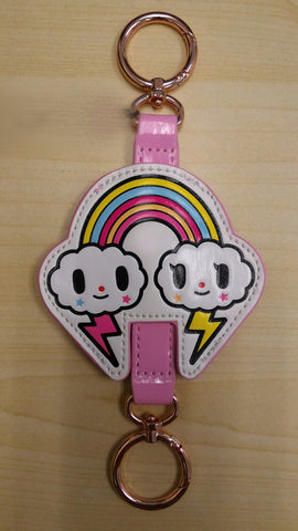 Tokidoki Accessories - Denim Daze - Rainbow Keychain