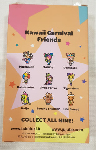 Ju-Ju-Be x Tokidoki - Kawaii Carnival - Blind Box Zipper Pulls