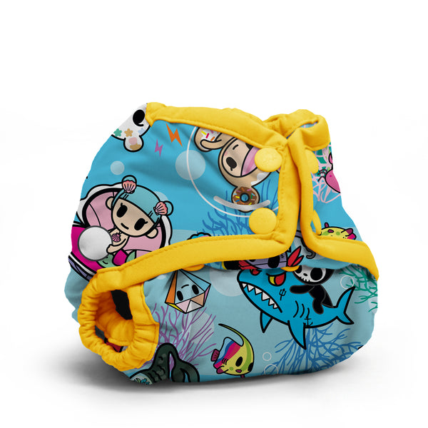 Kanga Care x Tokidoki - TokiSea - Cloth Diaper Cover - Newborn