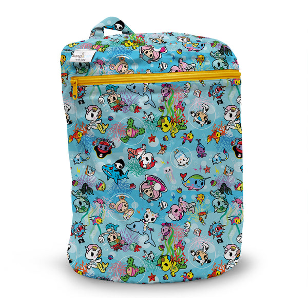 Kanga Care x Tokidoki - TokiSea - Wet Bag