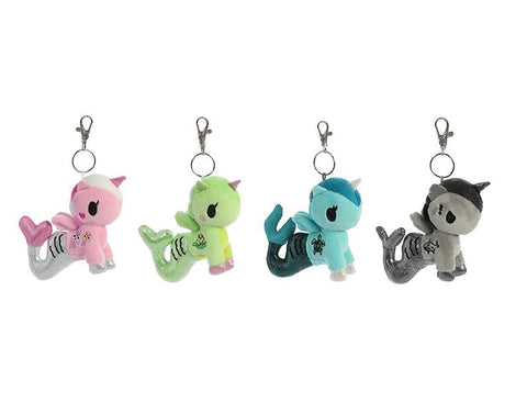 Tokidoki Accessories - Mermicorno Plush Clip On Blind Bag Series 2 by Aurora