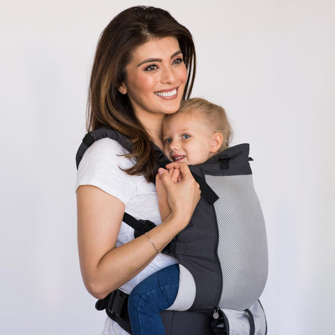 LILLEbaby - Carry On All Season Baby Carrier - CHARCOAL/SILVER