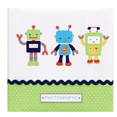Nojo Baby Photo Album - Baby Bots - Blashful
