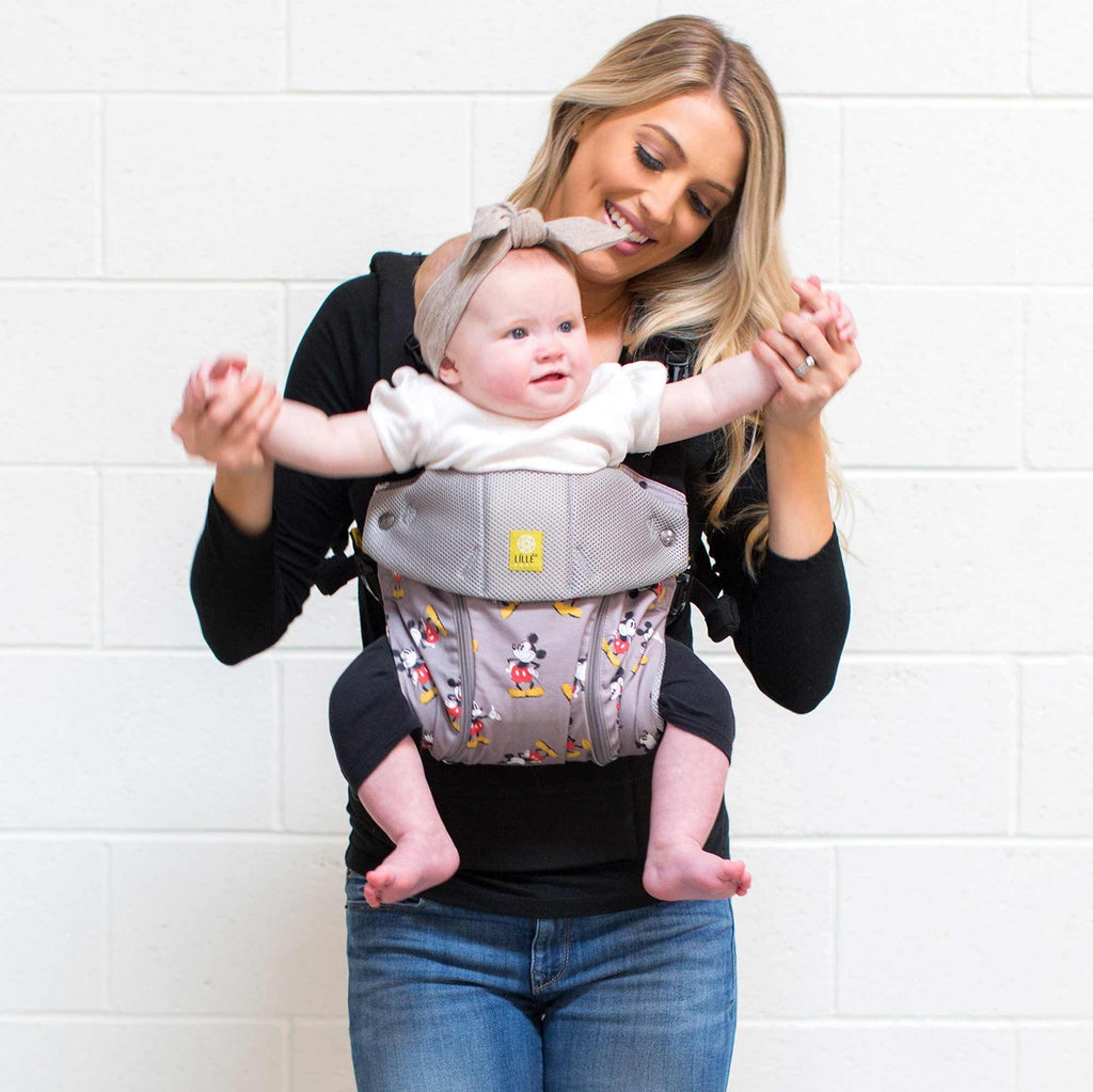 98ef25e08a3 LILLEbaby - Disney Baby Collection - Complete All Season Baby Carrier -  Mickey Classic