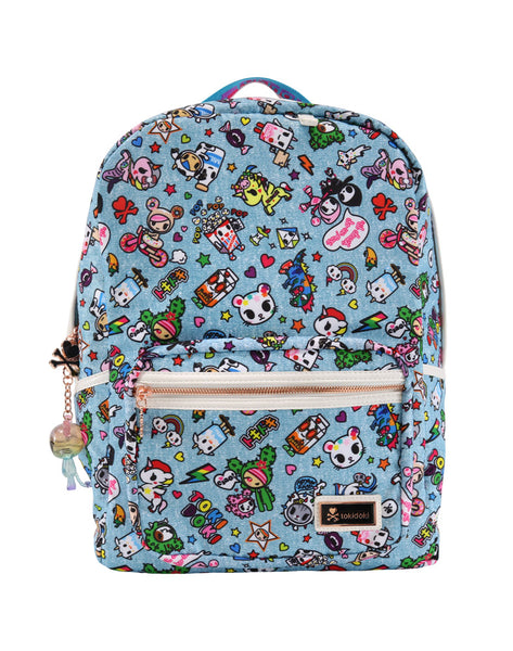 Tokidoki Denim Daze - Large Backpack