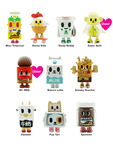 Tokidoki Accessories - Moofia Breakfast Besties Series 2 Blind Box