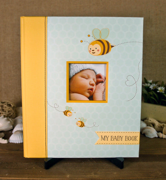 Pearhead Baby Memory Book - Sweet Bee - Blashful