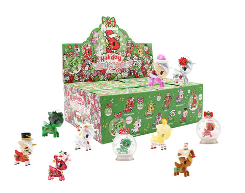 Tokidoki Accessories - Holiday Unicorno Series 2 Blind Box