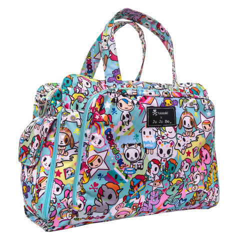 Ju-Ju-Be Tokidoki Unikiki 2.0 Diaper Bag - Be Prepared - Blashful