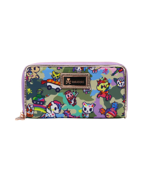 Tokidoki Camo Kawaii - Long Wallet