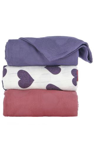 Tula Blanket Set - Tula Love Violette