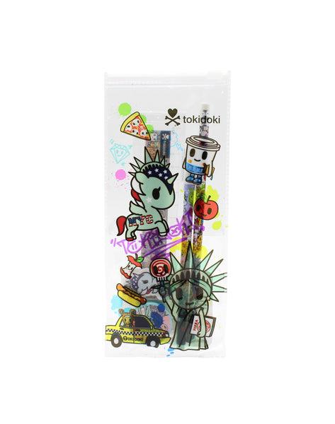 Tokidoki NYC - Pencil Case Set