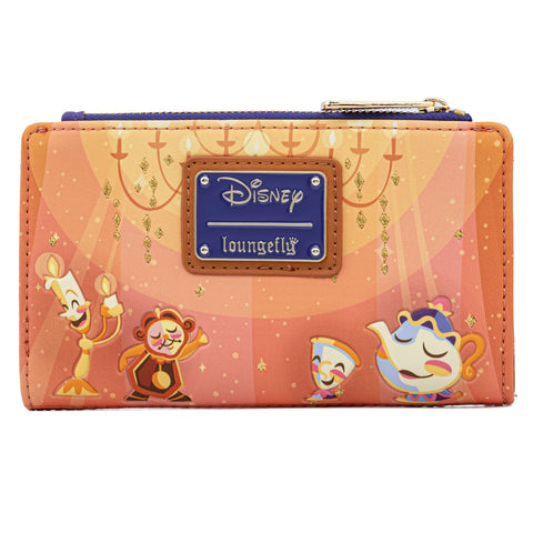 Loungefly - Disney - Beauty and the Beast Ballroom Scene Wallet (May Pre-Order)