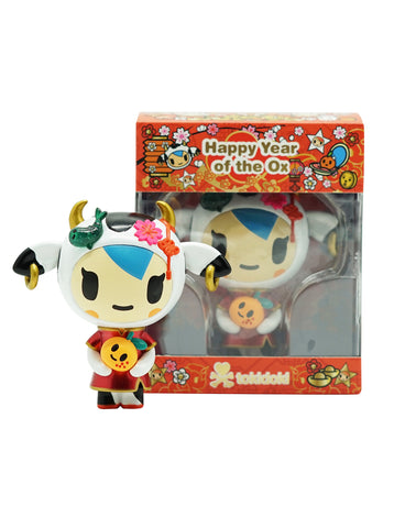 Tokidoki Accessories - Mozarella Year of the Ox 2021 Vinyl Figure (Pre-order)