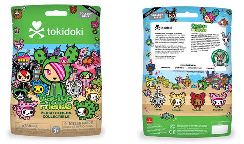 Tokidoki Accessories - Cactus Friends Plush Clip On Blind Bag Series 1 by Aurora