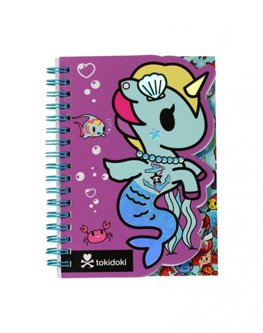 Tokidoki Accessories - Mermicorno Die Cut Notebook