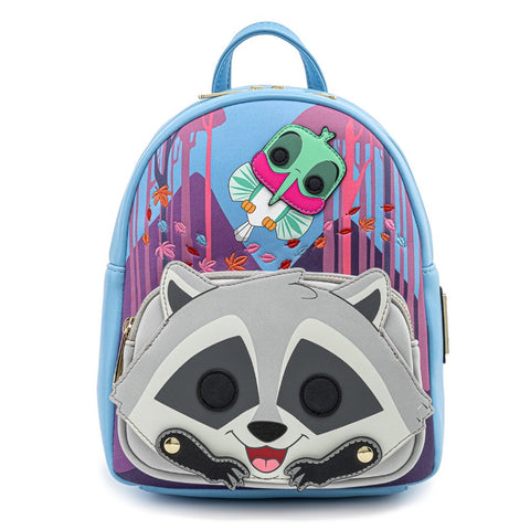 Funko Pop! by Loungefly Disney - Pocahontas Meeko Flit Earth Day Cosplay Mini Backpack