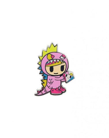 Tokidoki Accessories - Little Terror Enamel Pin