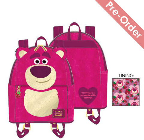 Loungefly - Disney Pixar - Lotso Cosplay Sherpa Mini Backpack (Pre-Order)