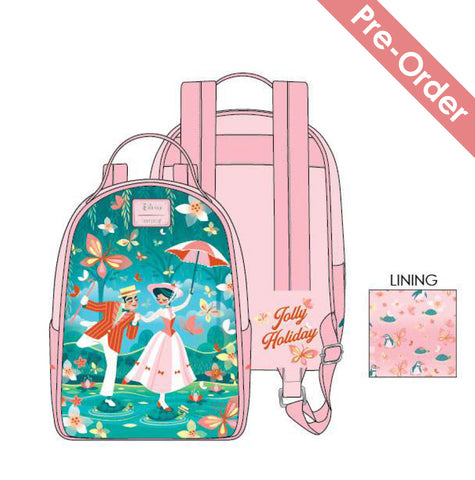 Loungefly - Disney - Mary Poppins Jolly Holiday Mini Backpack (Pre-Order)