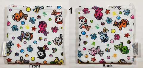 Itzy Ritzy Tokidoki Collection - Mermicorno All Stars - Small Snack Bag - Blashful