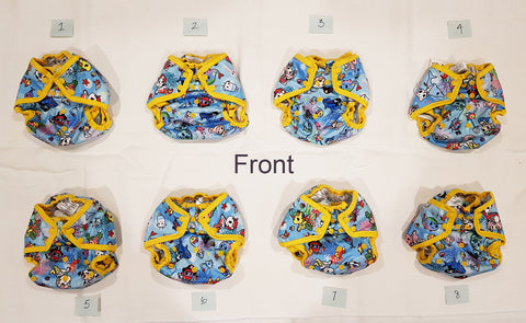 Kanga Care x Tokidoki - TokiSea - Cloth Diaper Cover - One Size
