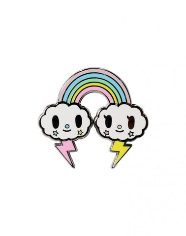 Tokidoki Accessories - Pastel Pop - Rainbow Enamel Pin