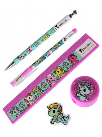 Tokidoki Accessories - Mermicorno Stationary Set