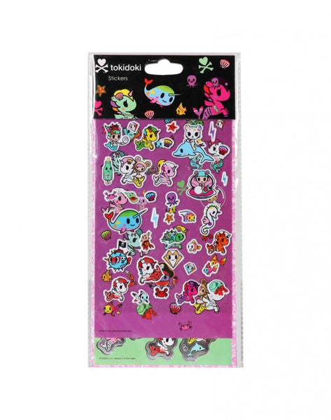 Tokidoki Accessories - Mermicorno Sticker Sheet Set