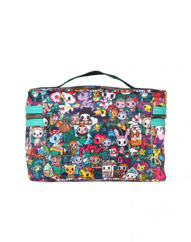 Tokidoki Rainforest - Travel Cosmetic Case