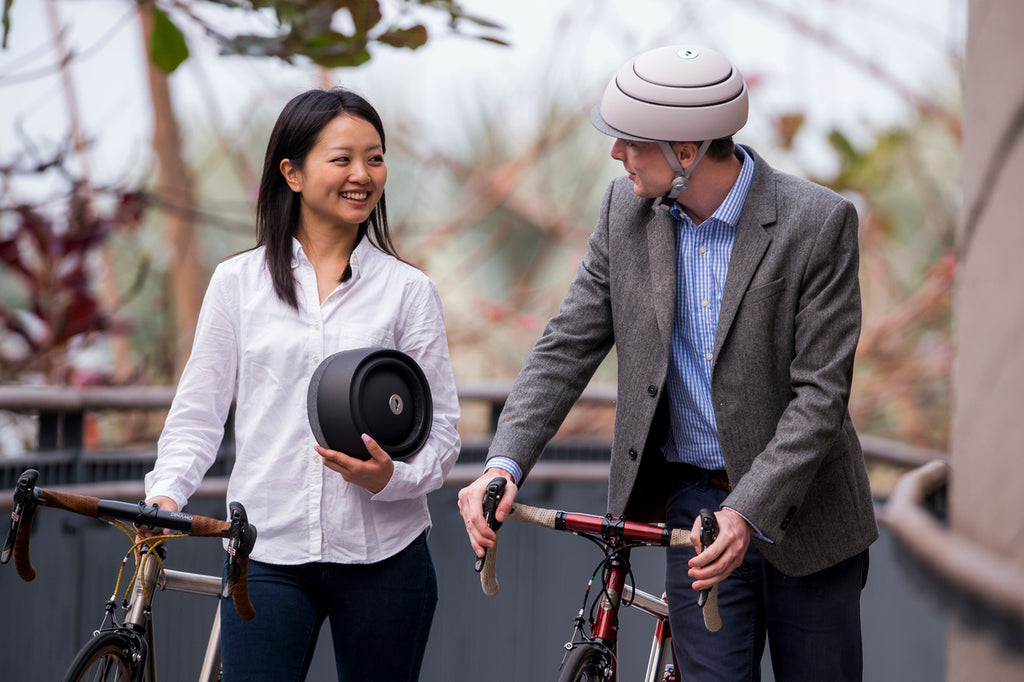Closca street bike helmets are foldable and safe, Safety Certifications: Europe EN1078 / America and Canada: CPSC