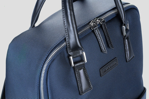 Remus Uomo Leather Trimmed Backpack - Smyth & Gibson Shirts