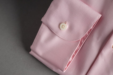Smyth & Gibson Tailored Cutaway Pink Plain Poplin