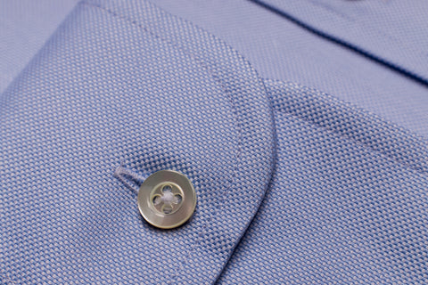 SMYTH & GIBSON CLASSIC FIT OXFORD SHIRT IN LIGHT BLUE