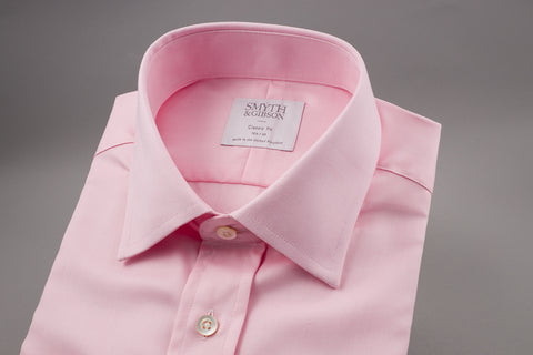 SMYTH & GIBSON CLASSIC FIT OXFORD SHIRT IN PINK - Smyth & Gibson Shirts