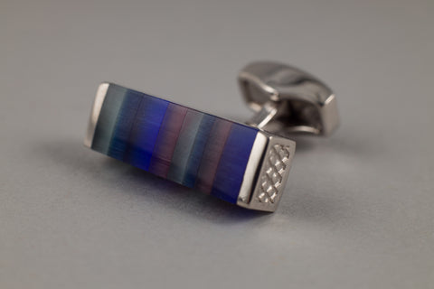 Tateossian Blue Cufflinks